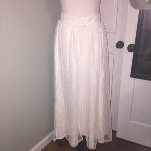 Torrid 2X Fluffy Maxi Skirt